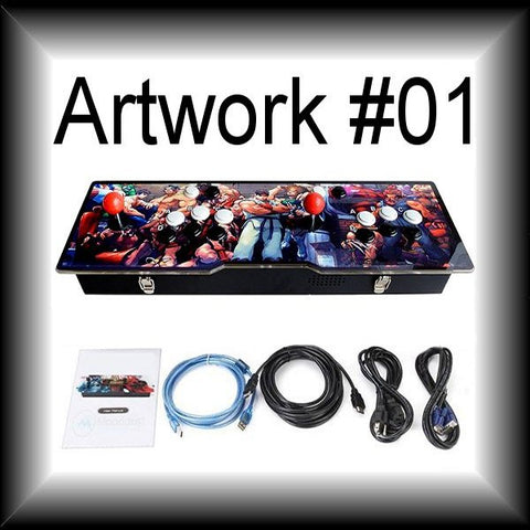 999-game 2-player Arcade Retro Console - Choose your own custom artwork