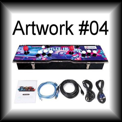 815-game 2-player Arcade Retro Console - choose your own custom artwork