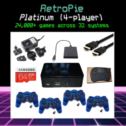 RetroPie Ultimate Emulation Console - Platinum Bundle