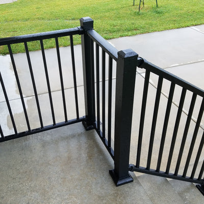 Porch Railing and Deck Railings in Johnson County, Kansas