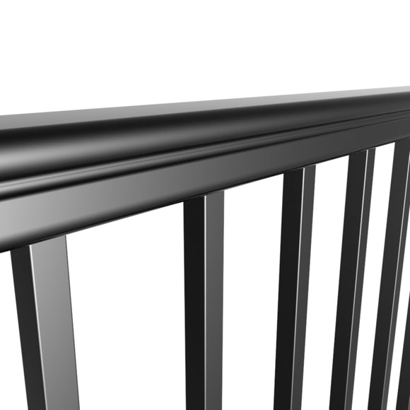 Preferred Geo Georgian Rail, Aluminum Railing System DIY friendly kits