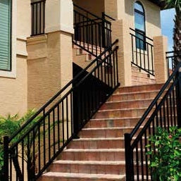 Westbury Riviera C30 and C301 Aluminum handrail system, deck railing kits, rail kit, three rail