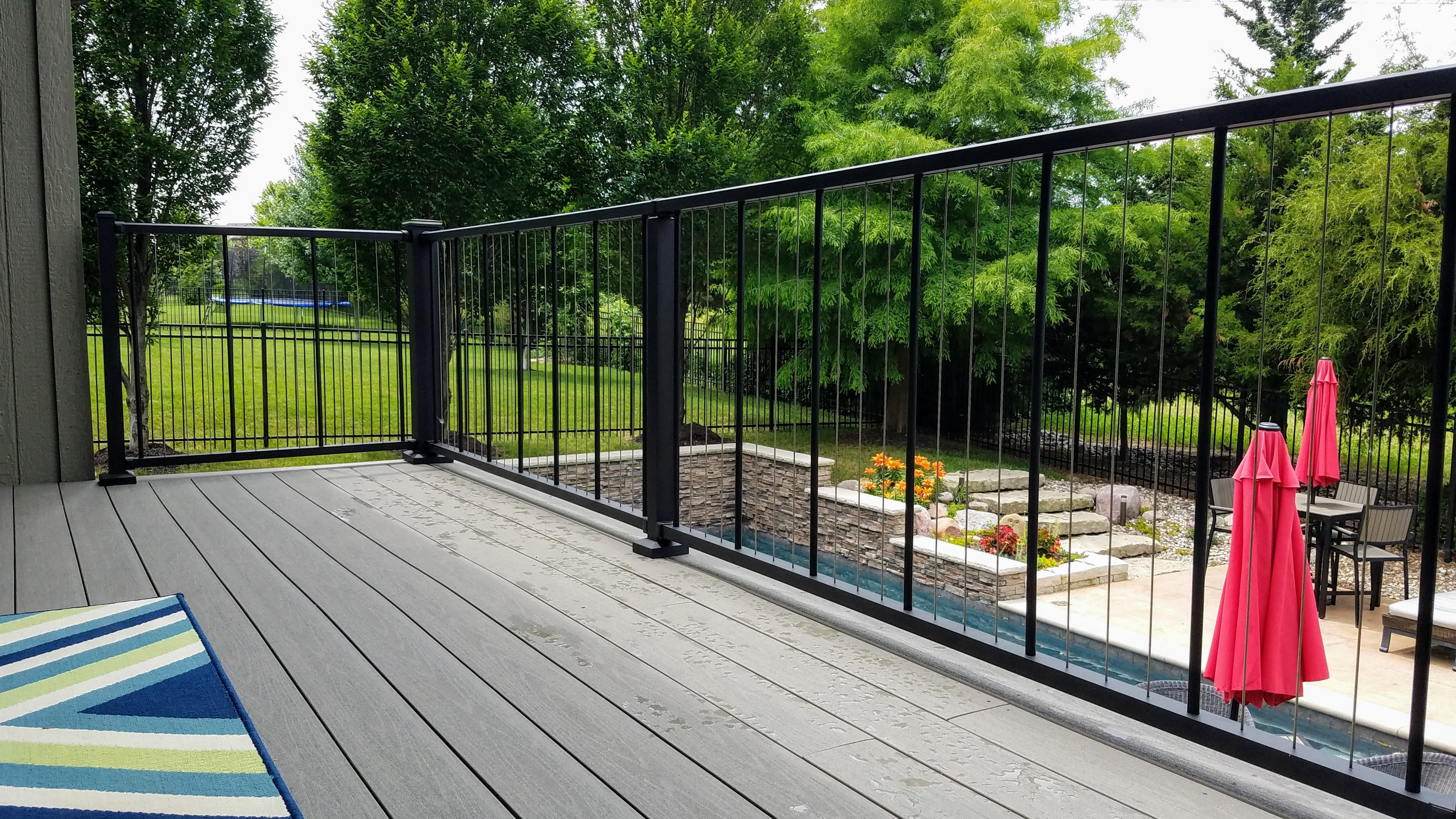 Image of: Verticable Railing C80 Series Westbury Cable Railing Tagged Deck Railing Deck Rail Supply