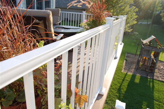 Picture of White Railing