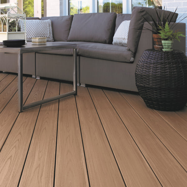 Azek Autumn Chestnut PVC Decking Collection