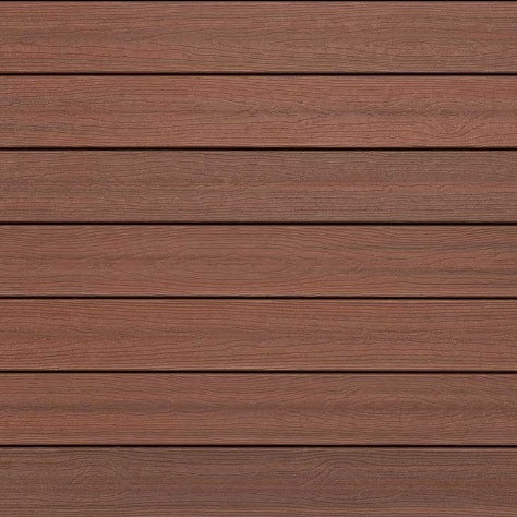 Evergrain Envision Shaded Auburn, Capped Composite Decking in Distinction Collection
