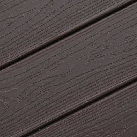 Expression Woodland Bark Capped Composite Decking by Envision