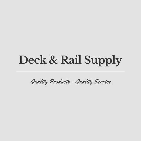 New logo for Deck & Rail Supply - Quality Products - Quality Service call for a quote or appointment