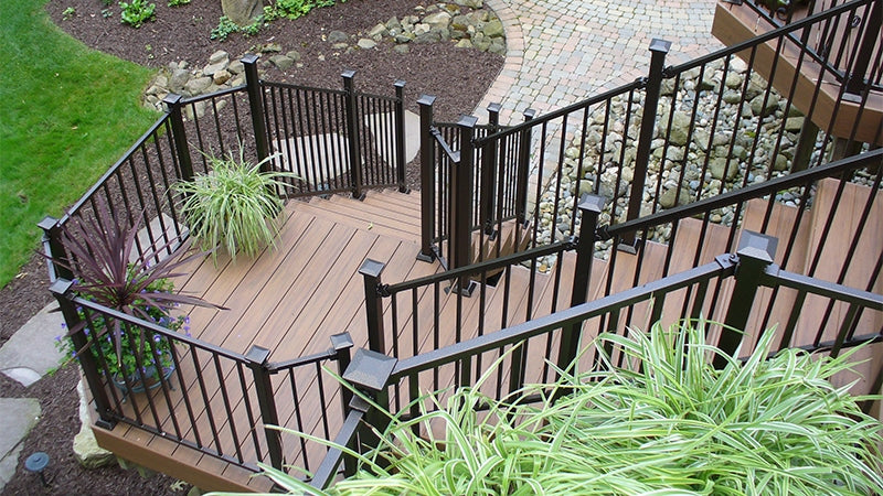 Fe26 is Fortress Iron and All Iron Welded Railing System with heavy Thick Guage Iron rail panels and posts