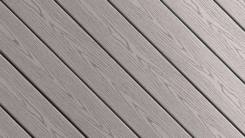 Fiberon Good Life Capped Composite Decking Color Streaking Cottage