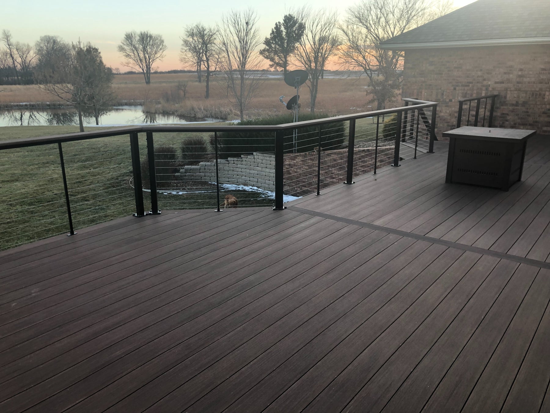 PVC Decking like Azek is top quality and looks like real wood!