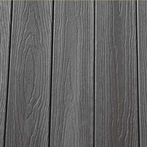 Envision Barnwood Plank Capped Composite Decking Grooved and Solid