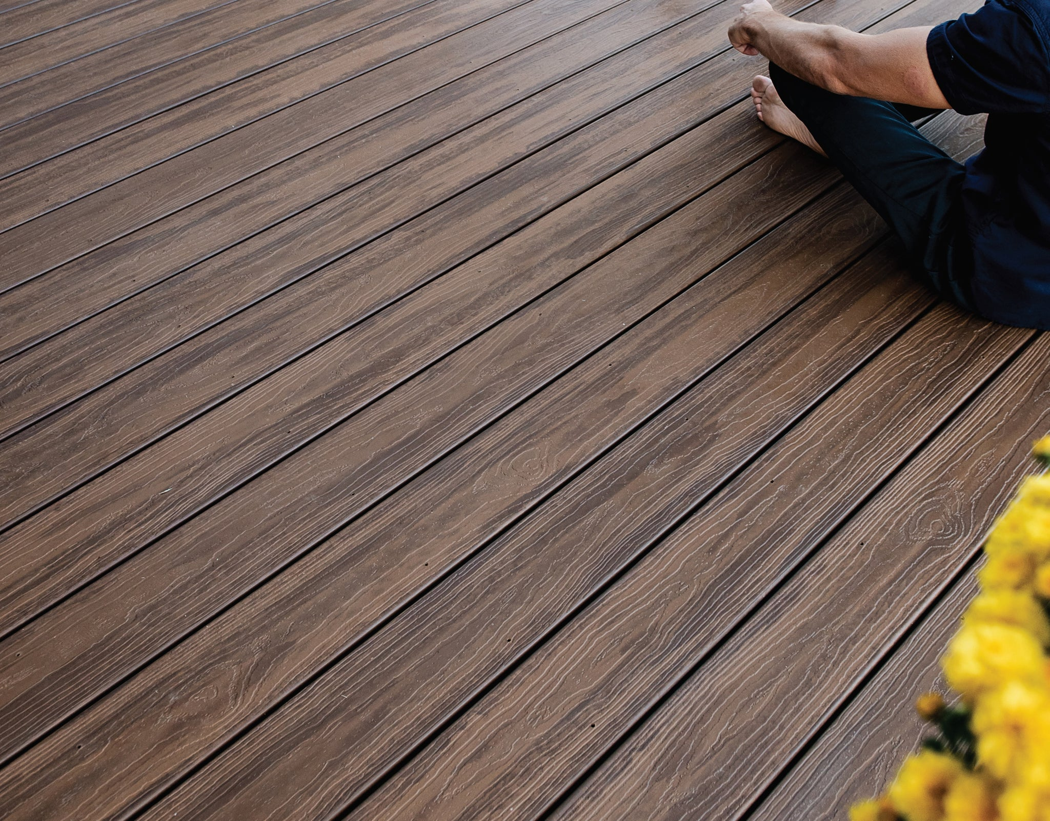 Inspiration Decking Collection by Envisions Tamko Evergrain Capped Composite Decking