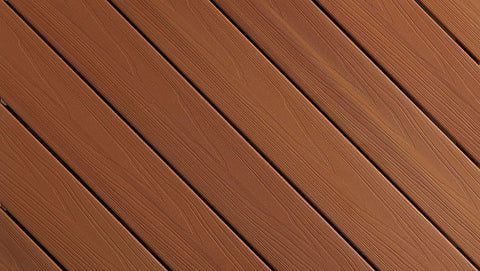 ProTect Fiberon Capped Composite Color Streaking Western Cedar