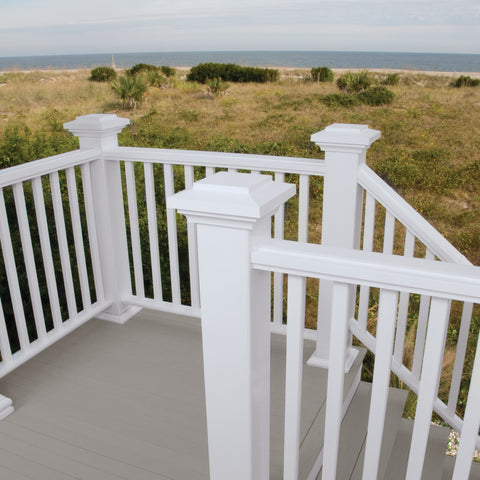 Reserve_White_TraditionalRailing_Composite_ Deck_Railing_System