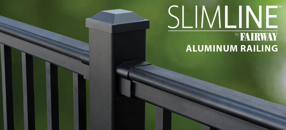 Slimline Fairway Aluminum Railing