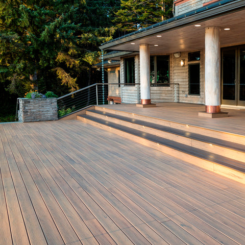 Tigerwood Legacy Collection Decking Composite, Profile
