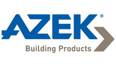 Azek Logo, Azek Building Products Logo, Azek Logo Blue