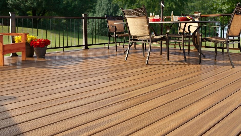 Fiberon Paramount PVC Decking Line, Hardwood Colors
