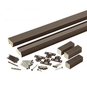 Evolutions Contemporary Rail Kit in Traditional Walnut by TimberTech Composite Railing System