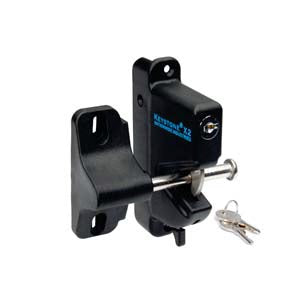 Latch and lock for dekpro prestige aluminum railing systems