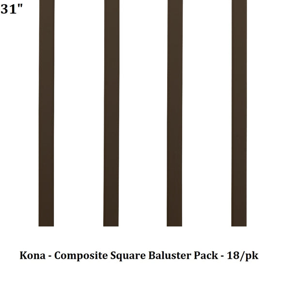 TimberTech Azek - Infill: Composite Square Baluster Pack