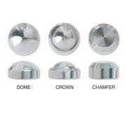 Feeney Stainless Steel End Caps 4/Pack