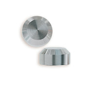 Stainless Steel Chamfer End Cap pack of four