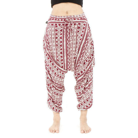 Unisex | Triangle Tribal by Harem Pants