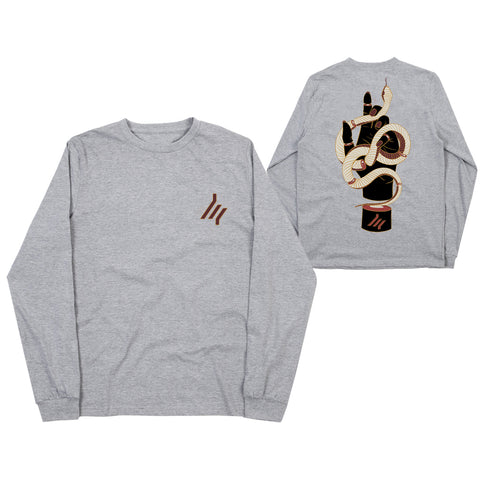 Snake Grey Long Sleeve