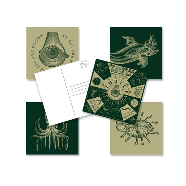 "Thrice ""Vheissu"" Post Card Set"