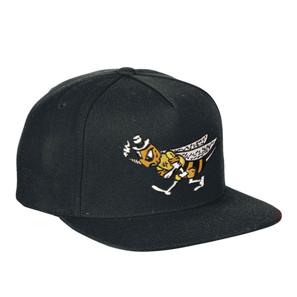 BEE BLACK BASEBALL HAT