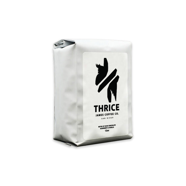 Thrice X James Coffee Co Coffee Bag