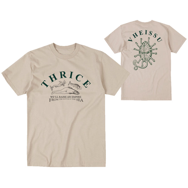 "Thrice ""Bottom Of The Sea""  Sand Tee"