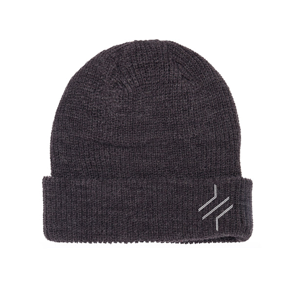 BARS EMBROIDERED BEANIE
