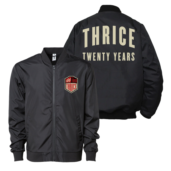 20 YEAR ANNIVERSARY BOMBER SHELL JACKET (2 WEEK PREORDER)