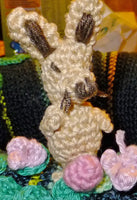 rabbit crochet Mini Amigurumi - BerliDesign - product picture - crochet pattern amigurumi bunny