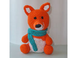 little fox crochet - BerliDesign - product picture -crochet pattern amigurumi fox present wildlife