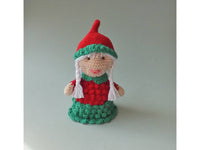 Miss Santa crochet english pattern - BerliDesign - product picture - crochet pattern christmas xams