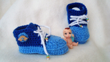 baby sneakers crochet pattern product picture from thepatternfactory.net