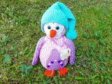Penguin crochet pattern from Puschi´s Product picture on http://thepatternfactory.net