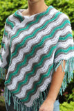 Product picture Poncho Boho-chic by Maschen mit Liebe at http://thepatternfactory.net