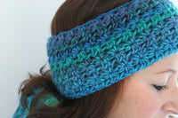 Product picture headband with stars by Maschen mit Liebe at http://thepatternfactory.net