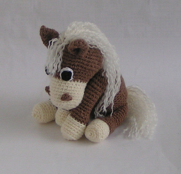 "amigurumi crochet Pattern for Horse ""Samy"" - lucygurumi - Product picture"