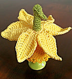 "Egg Cosy Crochet ""Daffodil"" Crochet Pattern Product picture"