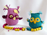 "amigurumi häkeln ""Mia, the math-loving Owl"" Crochet Pattern product picture"