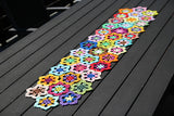 "Product picture table runner ""Mandala"" by Maschen mit Liebe at http://thepatternfactory.net"