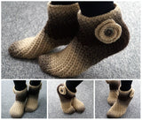 Crochet Slippers! Warm and super soft! Size 6-13 - slipper crochet - Product picture - Lea Leem