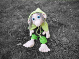 Product picture Wood troll Waldemar crochet pattern by BerliDesign at http://thepatternfactory.net