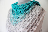 Product picture Triangular Shawl Azores by Maschen mit Liebe at http://thepatternfactory.net